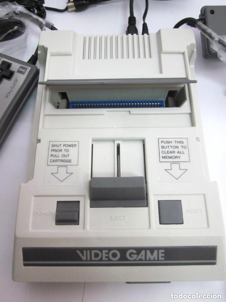 Videojuegos y Consolas: Antigua Consola Video Game Computer dos mandos Tv Ac Adaptor cable adaptador - Foto 6 - 139067942