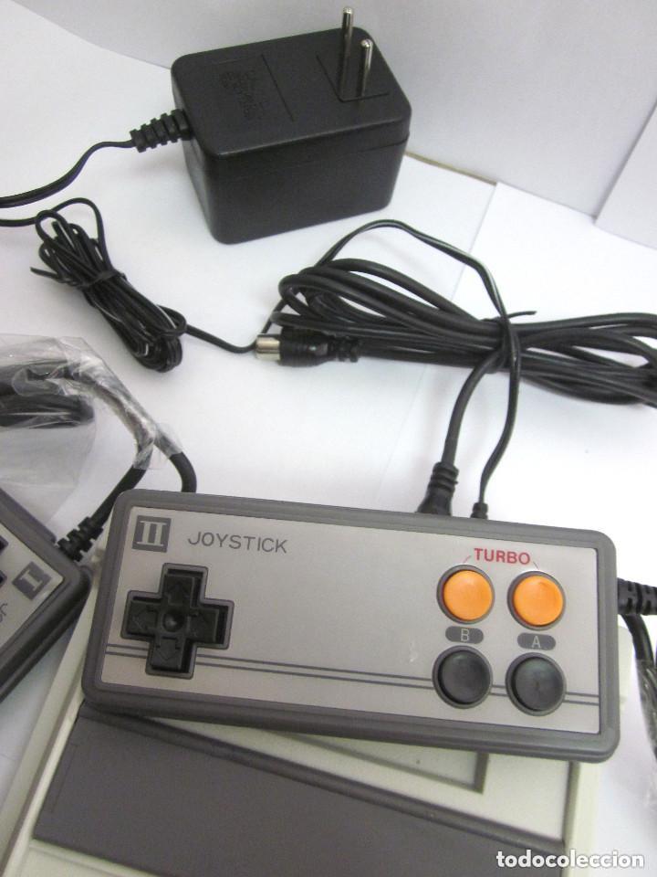 Videojuegos y Consolas: Antigua Consola Video Game Computer dos mandos Tv Ac Adaptor cable adaptador - Foto 7 - 139067942
