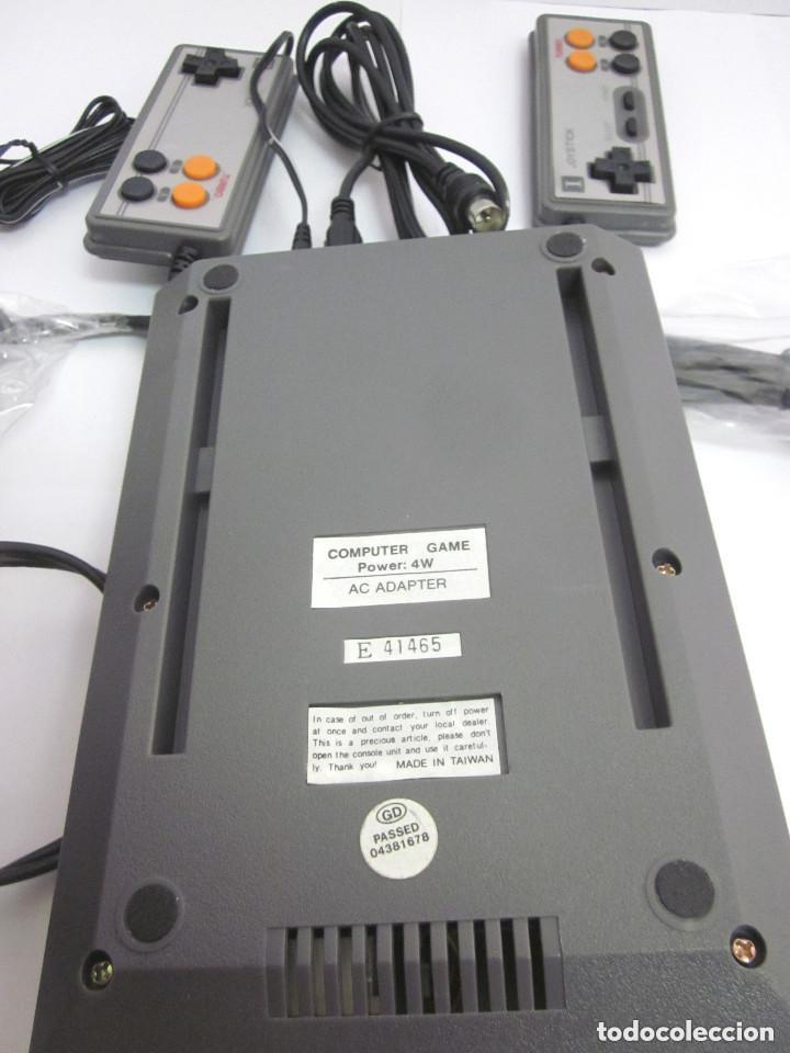 Videojuegos y Consolas: Antigua Consola Video Game Computer dos mandos Tv Ac Adaptor cable adaptador - Foto 9 - 139067942
