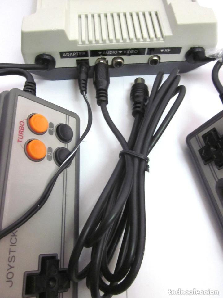 Videojuegos y Consolas: Antigua Consola Video Game Computer dos mandos Tv Ac Adaptor cable adaptador - Foto 11 - 139067942