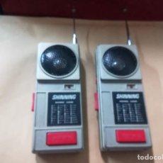 Videojuegos y Consolas: ANTIANGUO WALKIE TALKIE SHINNIMG JUEGO WALLKIE TALKIE . Lote 139096418