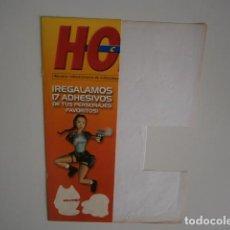 Videojuegos y Consolas: PEGATINAS VIDEOJUEGOS HOBBY CONSOLAS OBSEQUIO. Lote 220948447