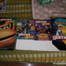 Videojuegos y Consolas: POSTERS REVISTA GAMES WORLD NINTENDO. Lote 139155370