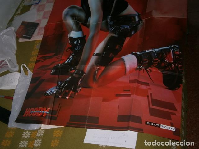Videojuegos y Consolas: POSTER GRAN TAMAÑO DE TOMB RAIDER - JILL DE JONG - LARA CROFT- (DOBLE CARA) - Foto 3 - 165587470