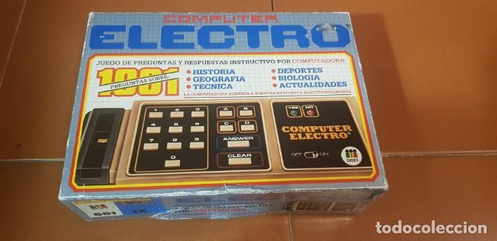 COMPUTER ELECTRO JUEGO DE PREGUNTAS Y RESPUESTAS POR COMPUTADORA FUNCIONANDO (Juguetes - Videojuegos y Consolas - Otros descatalogados)
