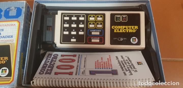 Videojuegos y Consolas: COMPUTER ELECTRO JUEGO DE PREGUNTAS Y RESPUESTAS POR COMPUTADORA FUNCIONANDO - Foto 2 - 139210970
