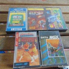 Jeux Vidéo et Consoles: 5 JUEGOS MSX AMSTRAD ZOND FERNANDO MARTIN FUTURE FRUIT MACHINE DATA. Lote 139252906