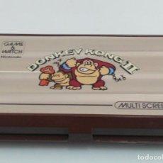 Videojuegos y Consolas: ANTIGUA GAME WATCH DE NINTENDO DONKEY KONG II. Lote 139304218