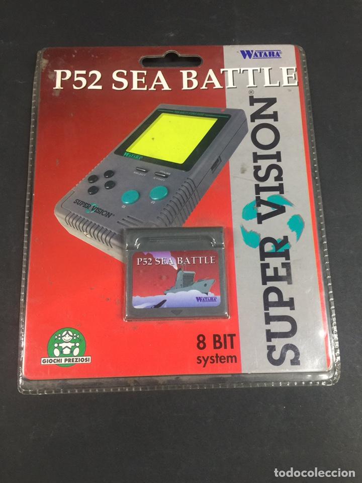 SUPERVISION GAME P52 SEA BATTLE (Juguetes - Videojuegos y Consolas - Otros descatalogados)