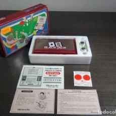 Videojuegos y Consolas: NINTENDO GAME & WATCH MULTISCREEN BLACK JACK BJ-60 . Lote 140170250