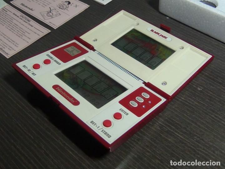 Videojuegos y Consolas: NINTENDO GAME & WATCH MULTISCREEN BLACK JACK BJ-60 / hasta con sus pilas originales - Foto 23 - 140170250
