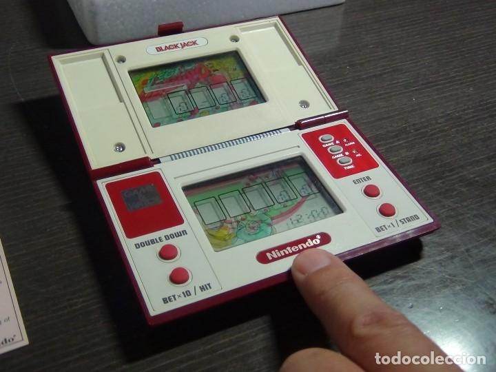 Videojuegos y Consolas: NINTENDO GAME & WATCH MULTISCREEN BLACK JACK BJ-60 / hasta con sus pilas originales - Foto 25 - 140170250