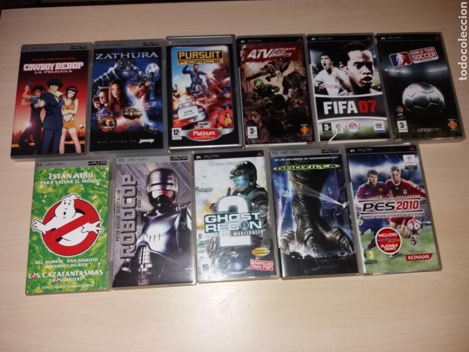 LOTE DE JUEGOS PSP (Juguetes - Videojuegos y Consolas - Otros descatalogados)