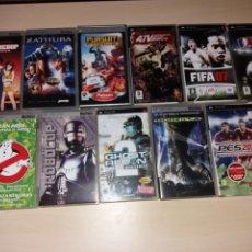 Videojuegos y Consolas: LOTE DE JUEGOS PSP. Lote 140286206