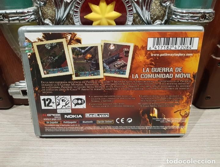 Videojuegos y Consolas: JUEGO NOKIA NGAGE N-GAGE PATHWAY TO GLORY IKUSA ISLANDS ** EXCELENTE** pal esp - Foto 2 - 140354222