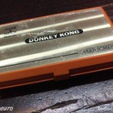Videojuegos y Consolas: MAQUINITA GAME & WATCH NINTENDO DONKEY KONG DK-52 FUNCIONANDO. Lote 189254358