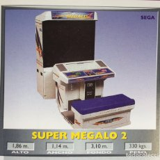 Videojuegos y Consolas - Maquina recreativa arcade, SEGA , modelo EURO MEGALO. Ocasion. - 140683362