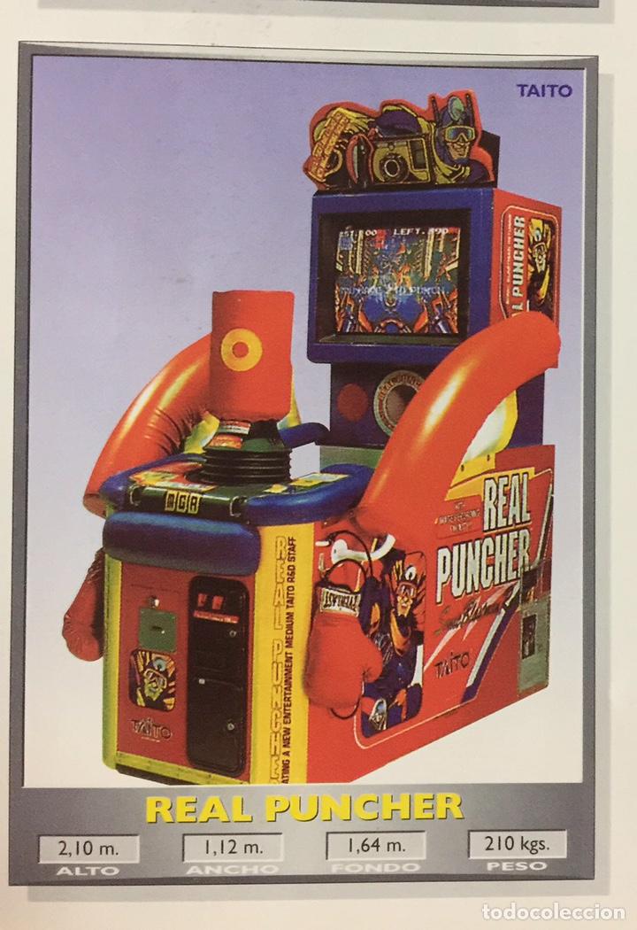Videojuegos y Consolas: Maquina recreativa arcade REAL PUNCHER. Ocasion. Vintage. - Foto 2 - 140686980