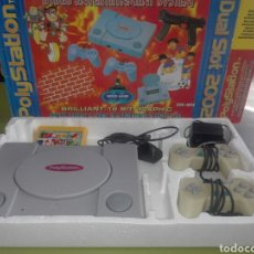 Videojuegos y Consolas: CONSOLA VIDEOJUEGO POLY STATION 2002 FUNCIONANDO,TAL CUAL SE VE.. Lote 141666652