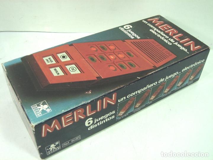 Videojuegos y Consolas: JUEGO ELECTRONICO-MERLIN DE BORRAS 1980 REF: 8081 ¡¡FUNCIONANDO¡¡ 6 JUEGOS DISTINTOS - Foto 10 - 141870554