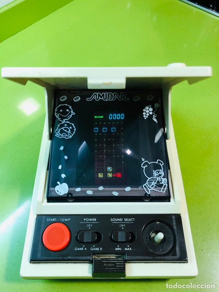 Videojuegos y Consolas: Game watch comecocos tabletop LSI game Amidar gakken, pacman - Foto 3 - 142109182