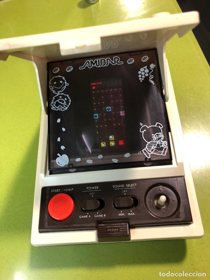 Videojuegos y Consolas: Game watch comecocos tabletop LSI game Amidar gakken, pacman - Foto 4 - 142109182