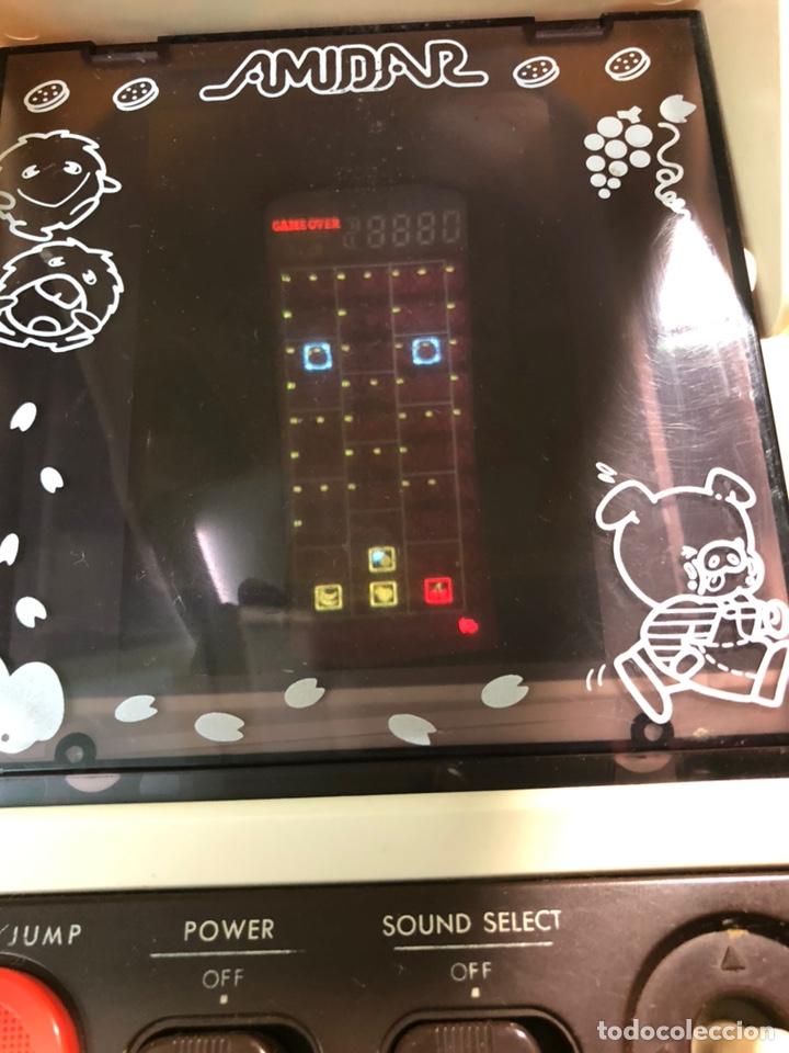 Videojuegos y Consolas: Game watch comecocos tabletop LSI game Amidar gakken, pacman - Foto 5 - 142109182