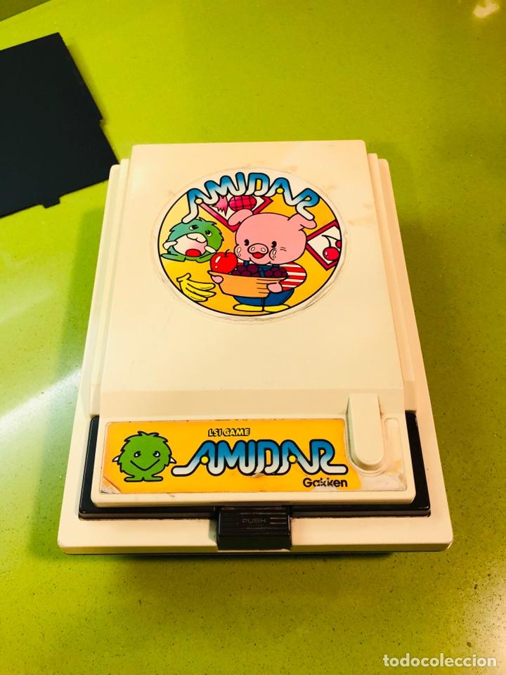 Videojuegos y Consolas: Game watch comecocos tabletop LSI game Amidar gakken, pacman - Foto 7 - 142109182