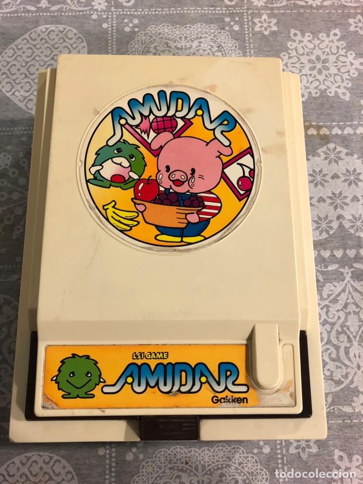 Videojuegos y Consolas: Game watch comecocos tabletop LSI game Amidar gakken, pacman - Foto 18 - 142109182
