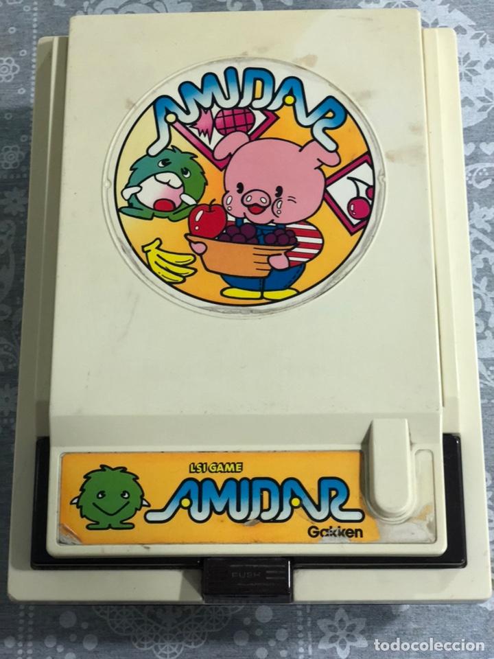Videojuegos y Consolas: Game watch comecocos tabletop LSI game Amidar gakken, pacman - Foto 23 - 142109182