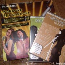 Videojuegos y Consolas: CONSOLA DE KARAOKE COMPLETA. CON DISCOS EXTRA.. Lote 142113333