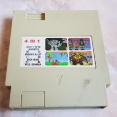 Videojuegos y Consolas: CARTUCHO JUEGOS 4 IN 1 CONSOLA CLONICA AÑOS 80 TIPO NES. Lote 142849653