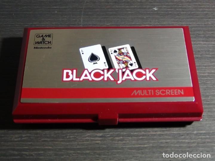 Videojuegos y Consolas: NINTENDO GAME & WATCH MULTISCREEN BLACK JACK BJ-60 - Foto 4 - 142997702