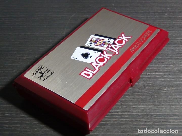 Videojuegos y Consolas: NINTENDO GAME & WATCH MULTISCREEN BLACK JACK BJ-60 - Foto 6 - 142997702