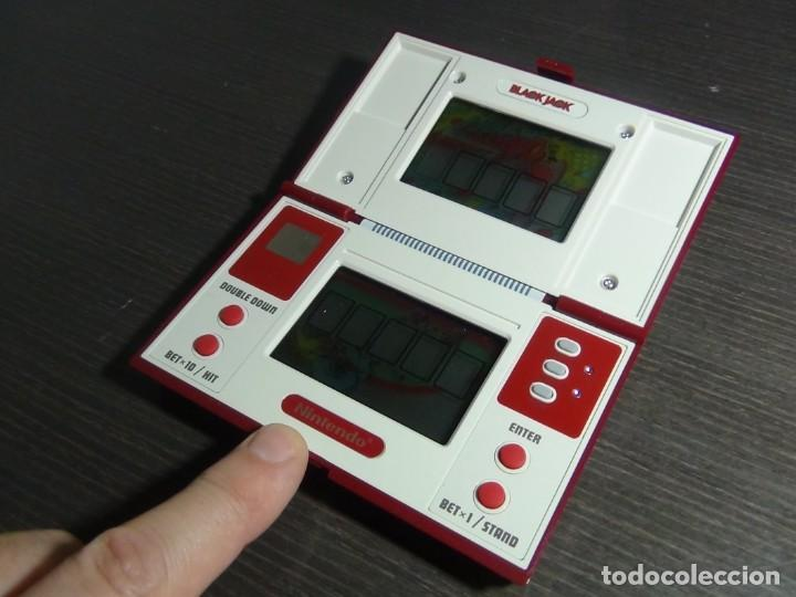 Videojuegos y Consolas: NINTENDO GAME & WATCH MULTISCREEN BLACK JACK BJ-60 - Foto 8 - 142997702
