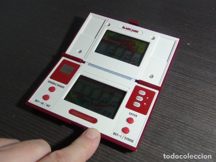 Videojuegos y Consolas: NINTENDO GAME & WATCH MULTISCREEN BLACK JACK BJ-60 - Foto 9 - 142997702