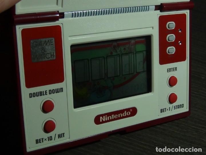 Videojuegos y Consolas: NINTENDO GAME & WATCH MULTISCREEN BLACK JACK BJ-60 - Foto 12 - 142997702