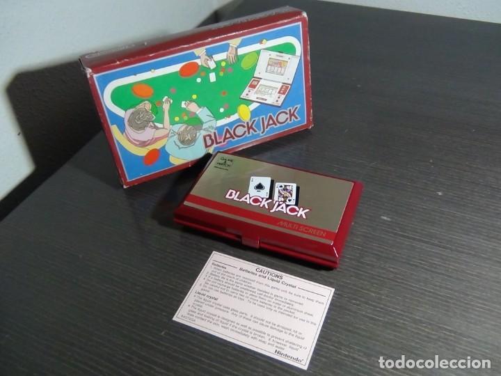 NINTENDO GAME & WATCH MULTISCREEN BLACK JACK BJ-60 (Juguetes - Videojuegos y Consolas - Otros descatalogados)