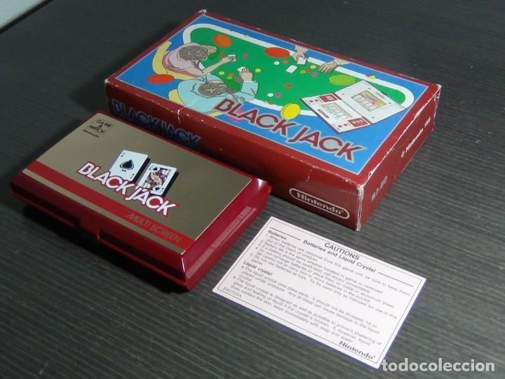 Videojuegos y Consolas: NINTENDO GAME & WATCH MULTISCREEN BLACK JACK BJ-60 - Foto 26 - 142997702