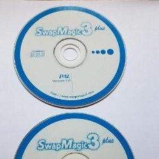 Videojuegos y Consolas: SWAP MAGIC 3 PLUS (VERSIÓN 3.6) PARA CARGAR JUEGOS DE IMPORTACIÓN PS2 (PLAYSTATION 2). DESCATALOGADO. Lote 143286622