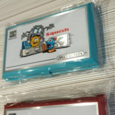 Videojuegos y Consolas: NINTENDO GAME WATCH SQUISH Y SAFEBUSTER. Lote 143347300