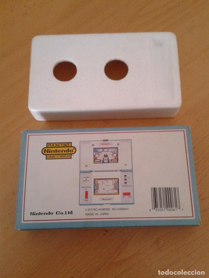 Videojuegos y Consolas: NINTENDO GAME&WATCH MULTISCREEN SQUISH MG-61 CAJA COMPLETA BOX+FOAM VER!! R8253 - Foto 2 - 143380710