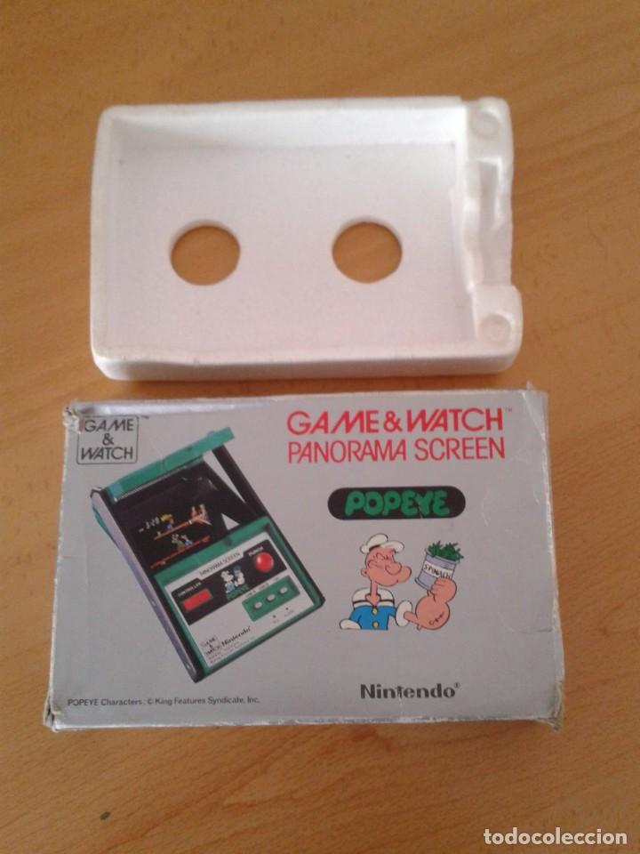 NINTENDO GAME&WATCH PANORAMA POPEYE PG-92 CAJA COMPLETA BOX&FOAM VER! R8260 (Juguetes - Videojuegos y Consolas - Otros descatalogados)