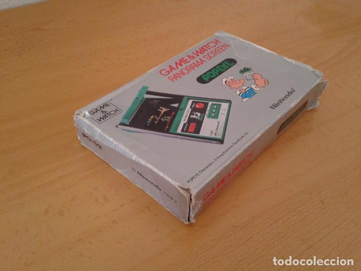 Videojuegos y Consolas: NINTENDO GAME&WATCH PANORAMA POPEYE PG-92 CAJA COMPLETA BOX&FOAM VER! R8260 - Foto 5 - 143385090