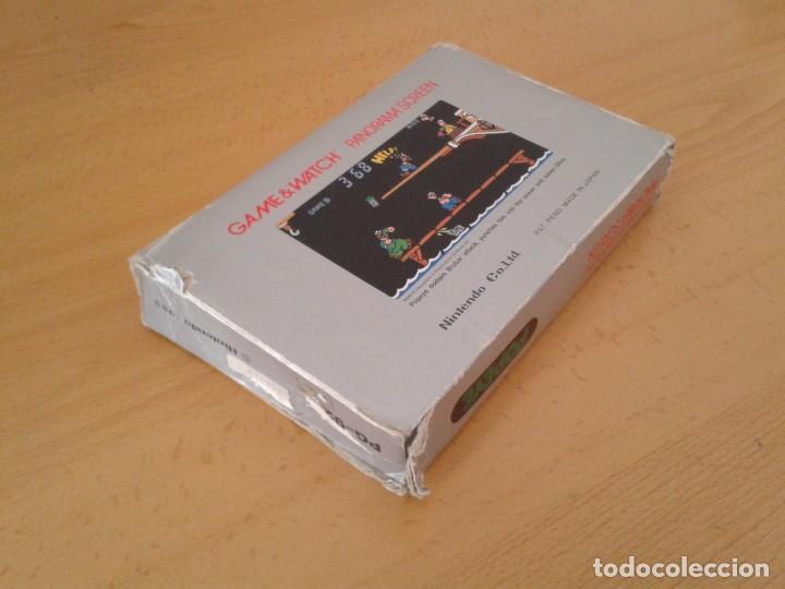 Videojuegos y Consolas: NINTENDO GAME&WATCH PANORAMA POPEYE PG-92 CAJA COMPLETA BOX&FOAM VER! R8260 - Foto 7 - 143385090