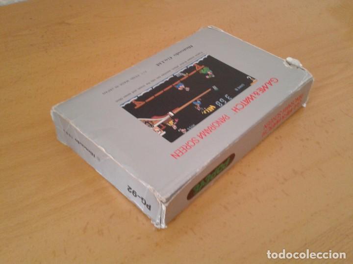 Videojuegos y Consolas: NINTENDO GAME&WATCH PANORAMA POPEYE PG-92 CAJA COMPLETA BOX&FOAM VER! R8260 - Foto 8 - 143385090