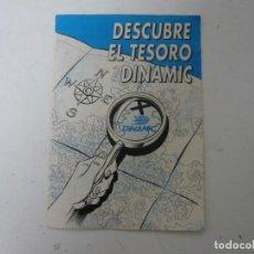 Videojuegos y Consolas: DESCUBRE EL TESORO DE DINAMIC - CATÁLOGO JUEGOS AÑOS 80-90. Lote 143659794