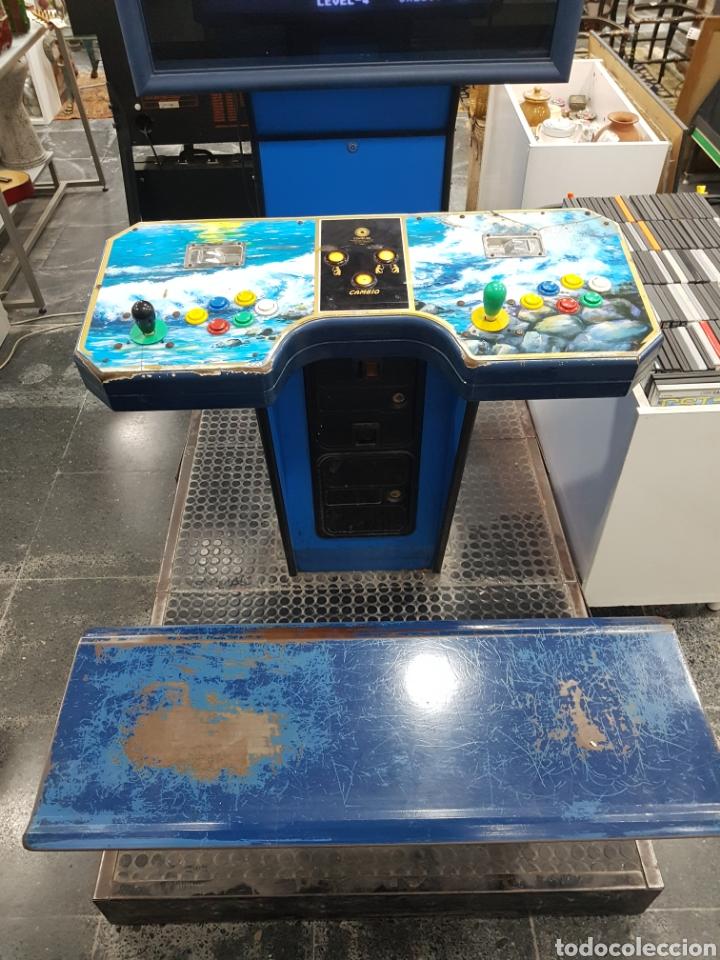 Videojuegos y Consolas: Máquina recreativa arcade retro vintage para dos jugadores - Foto 2 - 143727610