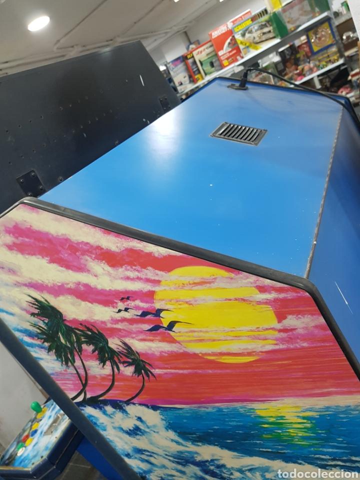 Videojuegos y Consolas: Máquina recreativa arcade retro vintage para dos jugadores - Foto 7 - 143727610
