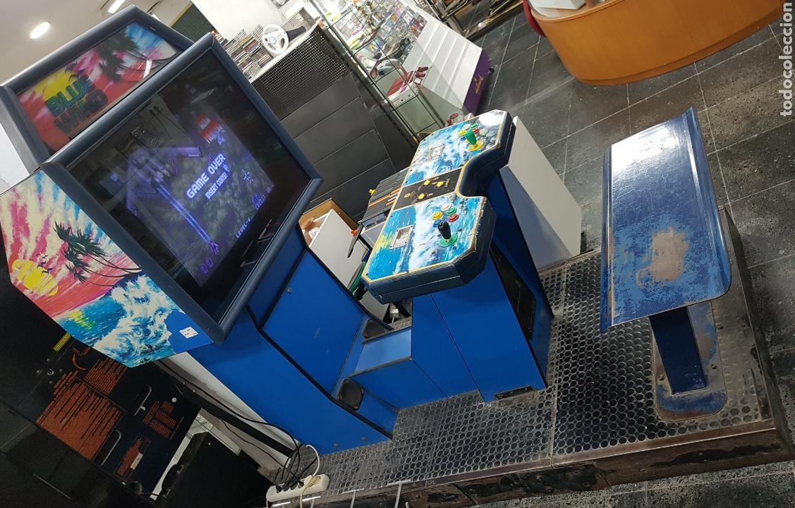 MÁQUINA RECREATIVA ARCADE RETRO VINTAGE PARA DOS JUGADORES (Juguetes - Videojuegos y Consolas - Otros descatalogados)